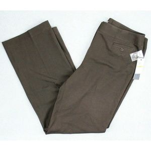 New Atelier Women's Pants Brown Straight Leg
